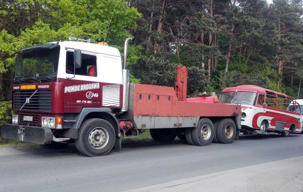 Holowanie samochodów ciężarowych